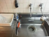 キッチン シンク(流し台)は使い易い ビッグサイズです。
