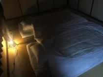 遊び心ある和室 静かな、広い部屋で安眠です。