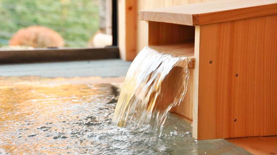 *泉質/PH9.5柔らかな肌触りが特徴の天然温泉