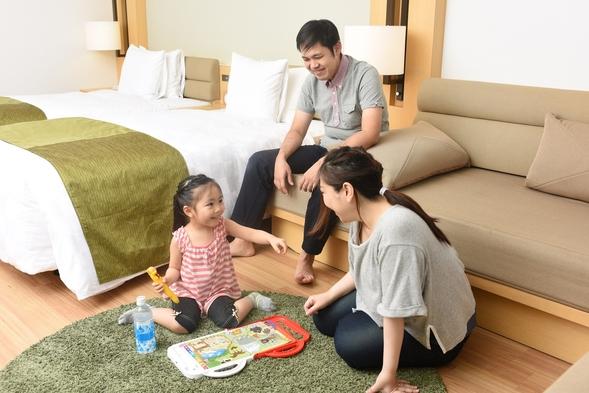 【ファミリー,赤ちゃん歓迎」素足で過ごすお部屋! 踏み台・便座・ゴミ箱設置 温泉&朝食付!#30