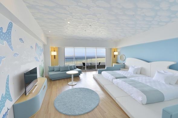 【5.6月得々キッズルーム!】海の中のお部屋ローベッドも魅力&海側&温泉券&朝食付!#32