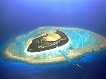 クロワッサンアイランドの愛称の水納島