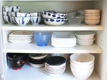 【食器類】各種、食器も取り揃えております