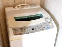 【洗濯機】長期滞在にも便利な洗濯機付き