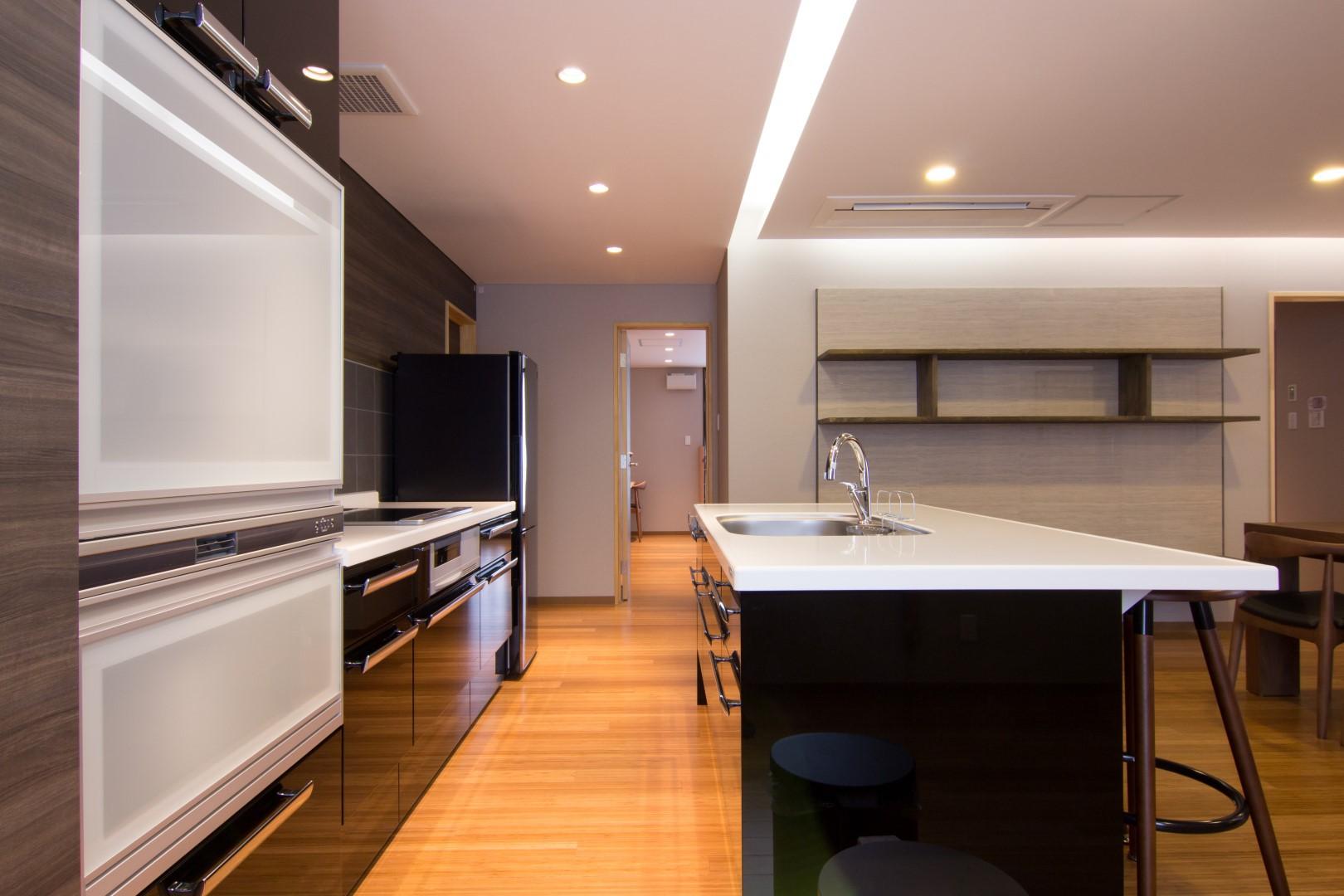 ワンフロアペントハウスキッチン Penthouse  Kitchen 204