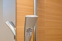 浴室:TOTO製エアインシャワー