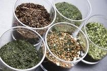 静岡県産5種類の茶葉