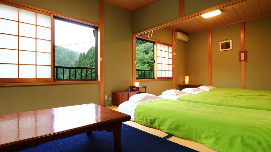 和室10.5畳【橘】外の眺めが綺麗です