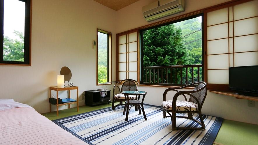 和室7.5畳【金木犀】景色を眺めながらのんびりと
