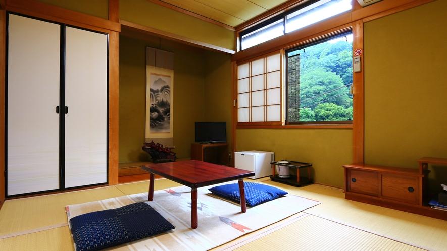 和室4.5畳2間【柚子】静けさが心地よい場所です