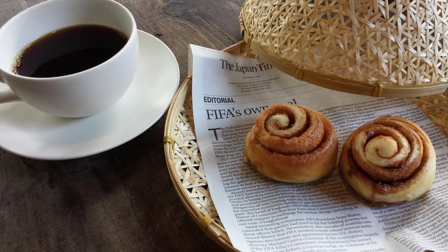 Breakfast   シナモンロール