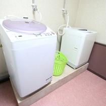 *洗濯ルーム/洗濯機と衣類を乾かすスペースも!