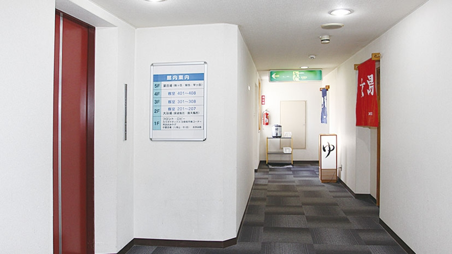 *【施設】館内はエレベーターをご利用いただけます。