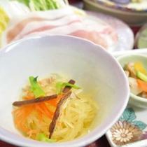 *【夕食一例】金糸瓜/そうめんかぼちゃの煮物。