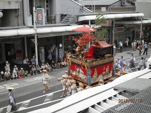 祇園祭りです!