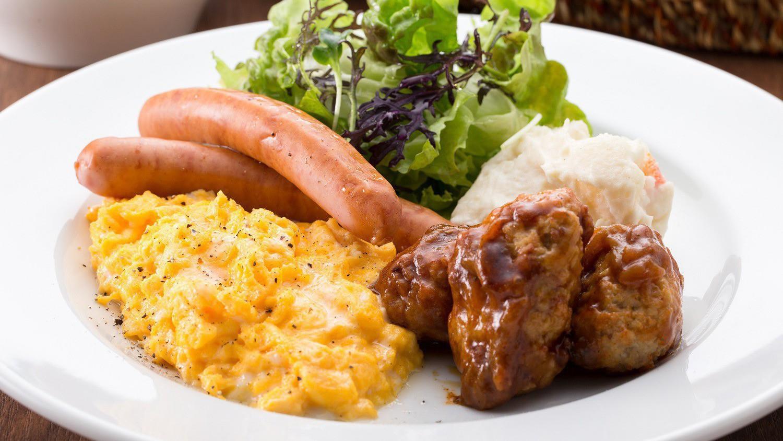 【朝食】洋食イメージ※当面の間、日替わりプレート形式でご提供しております。