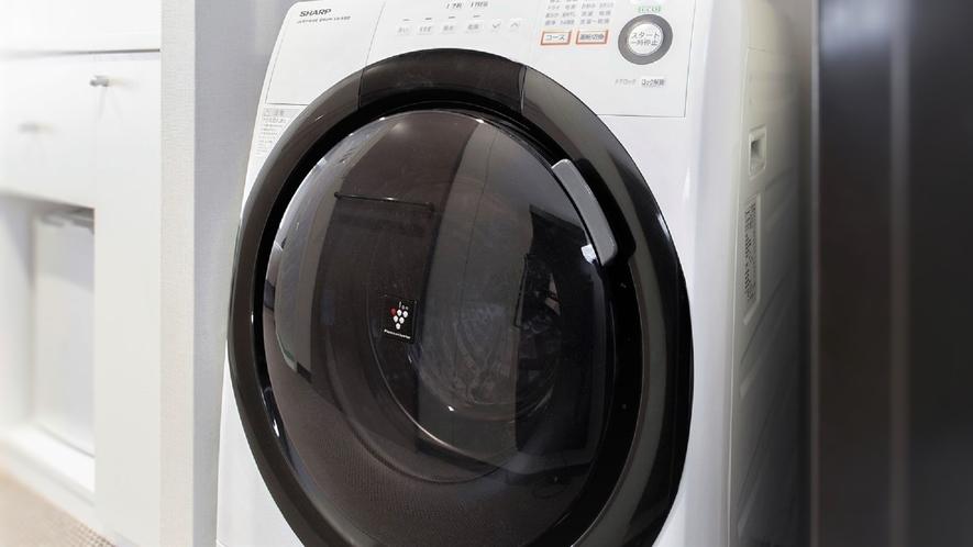 【洗濯乾燥機】ほとんどのお部屋に洗濯乾燥機付き※スマートシングルのみ洗濯機なし