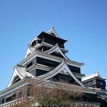 【熊本城】当ホテルから車で60分