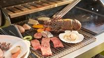 *BBQイメージ/石垣牛や近海で獲れた魚介類・島野菜などこだわりの石垣BBQ