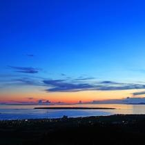 **【周辺観光】石垣島/バンナ公園展望台から見たブルーモーメント