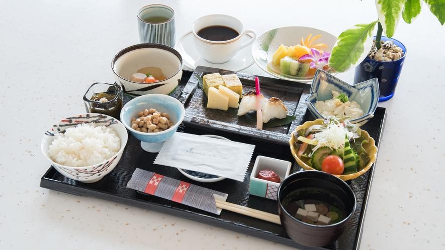 *朝食イメージ/和食プレート朝食の一例です