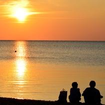 **【周辺観光】石垣島/底地ビーチの夕陽