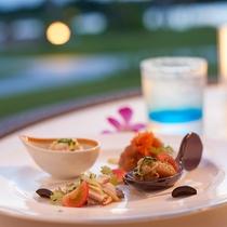 *夕食イメージ/レストランでのお食事はご予約を承っております。