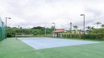 *テニスコート/1年中使えてナイタープレイも可能。(事前予約制)