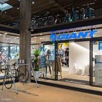 ■GIANT STORE/プロサイクルショップではメンテナンスや自転車のレンタルも行っています