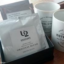 ■客室アメニティ/オリジナルのブレンドコーヒーと紅茶、ミネラルウォーターをご用意