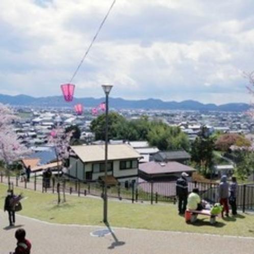 早島公園からの眺めは最高♪