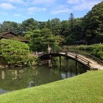 【後楽園】 日本三大庭園のひとつ!