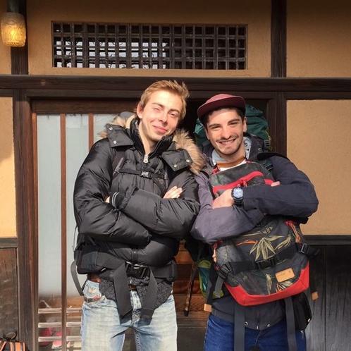 海外の方は日本の古民家をとっても気にいってくれます