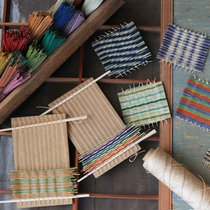 い草手織りコースター作りも体験できます。