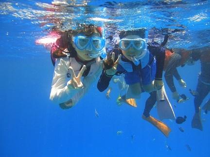 海水浴イン水納島
