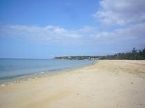 徒歩1分♪ビーチお散歩