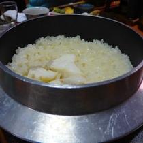 【冬の味覚会席】 クエ釜飯