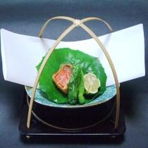 【黒潮会席】揚物 サーモン味噌バターフライ