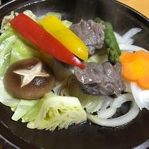 【白浜の恵会席】熊野牛陶板焼き