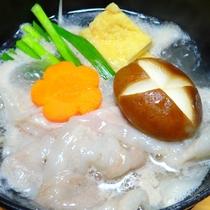 【黒潮会席】【美味少量会席】 2017年春 猪豚塩鍋