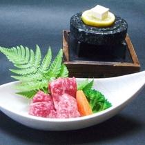 【黒潮会席】焼き物 熊野牛石焼き