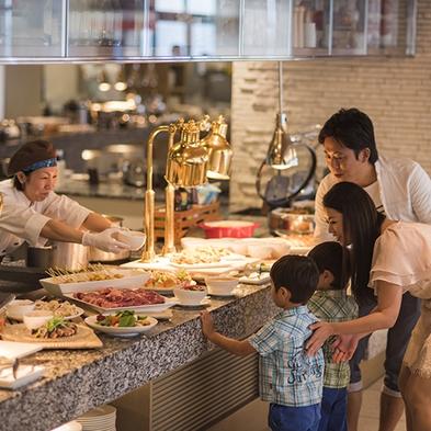 【現地決済OK!添い寝無料】沖縄食材も楽しめるライブキッチン★約60種類の豪華朝食ビュッフェ♪