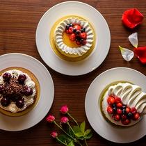 【mahru】パティシエ特製のケーキで、ほっと一息。