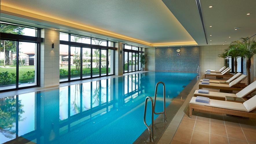 【1階 屋内プール】 ご宿泊のお客様専用のプールです。※無料
