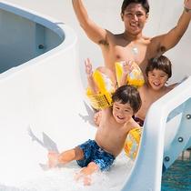 【ラグーンプール】大人気のスライダー!