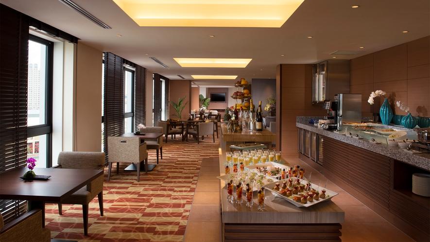 【9階 エグゼクティブラウンジ】 極め細やかなサービスでお客様のご滞在をサポートいたします