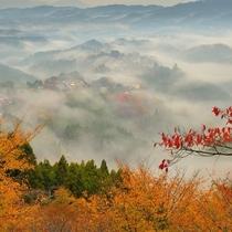 吉野山・秋の雲海