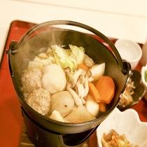 【夕食】鍋バイキング