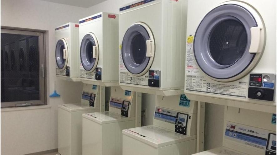 【コインランドリー】洗剤不要200円 乾燥機30分100円