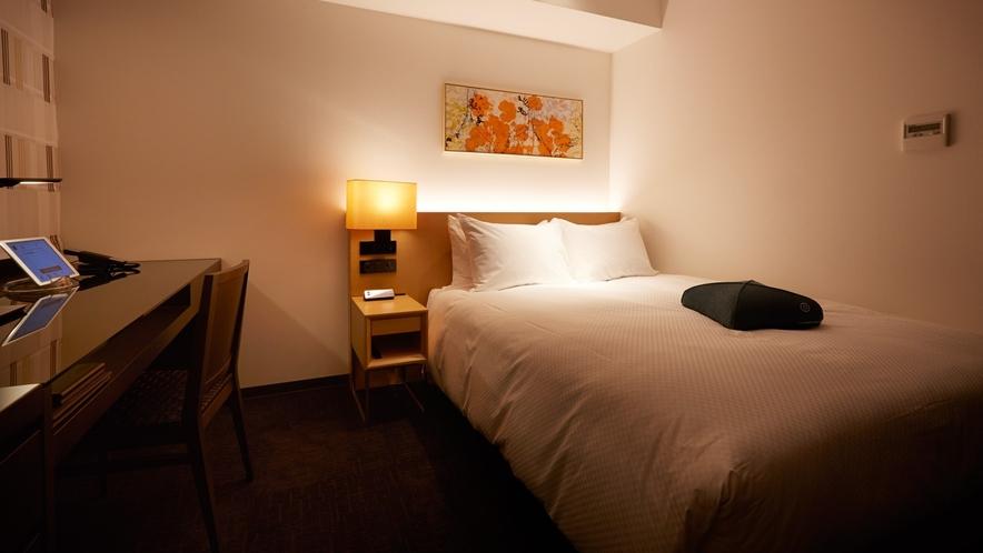フォルツァダブル/140cmのダブルベッドを備えたお部屋です